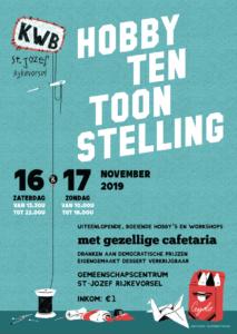 Hobbytentoonstelling 2019 (zaterdag) @ Gemeenschapscentrum De Kuiperij